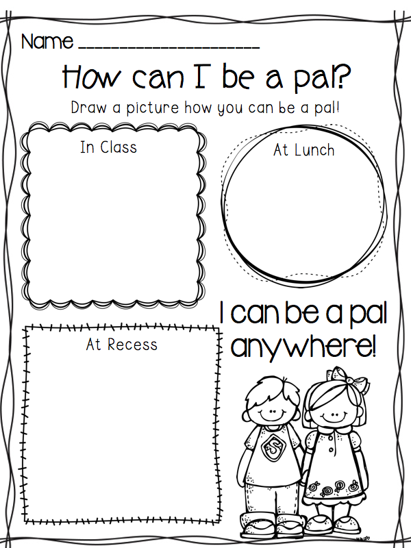 a great first day of school activity