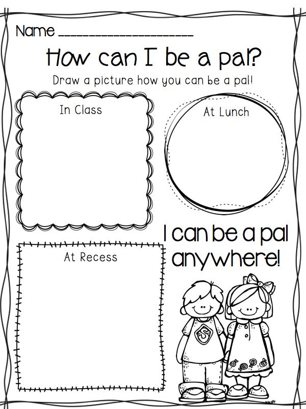 I Can Be A Pal Building Your Classroom Community School Activities Social Skills School Social Work