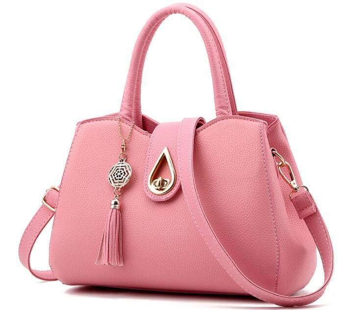 cded4ec56da9c Casual Tear Drop Top Handle Crossbody Shoulder Bag -11 Colors ...