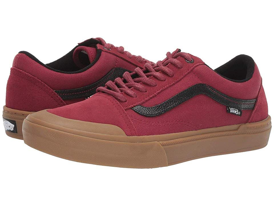 Vans Old Skool Pro BMX Chaussure (biking red gum)