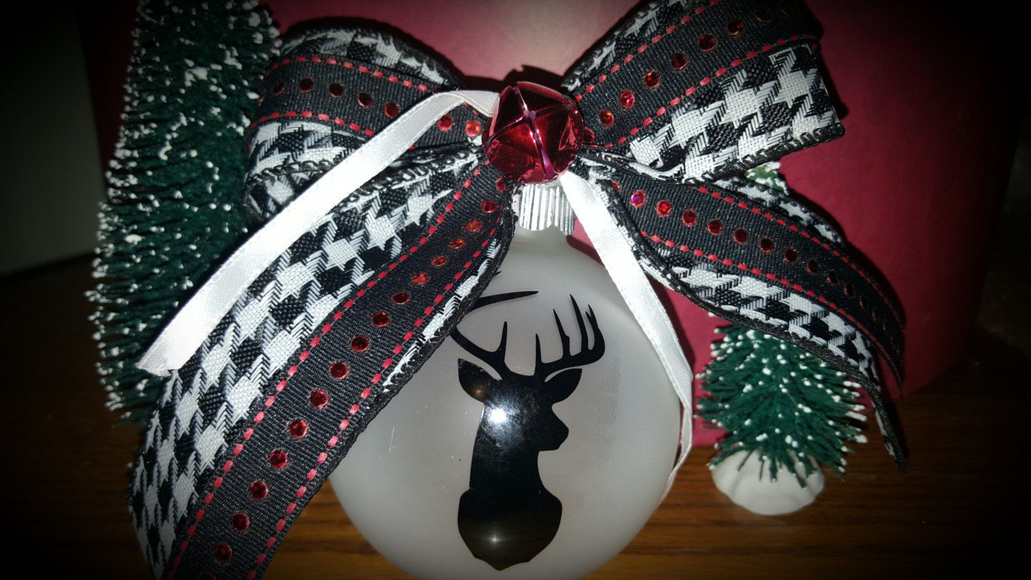 Check out this beautiful Deer ornament on Etsy! Pretty ...