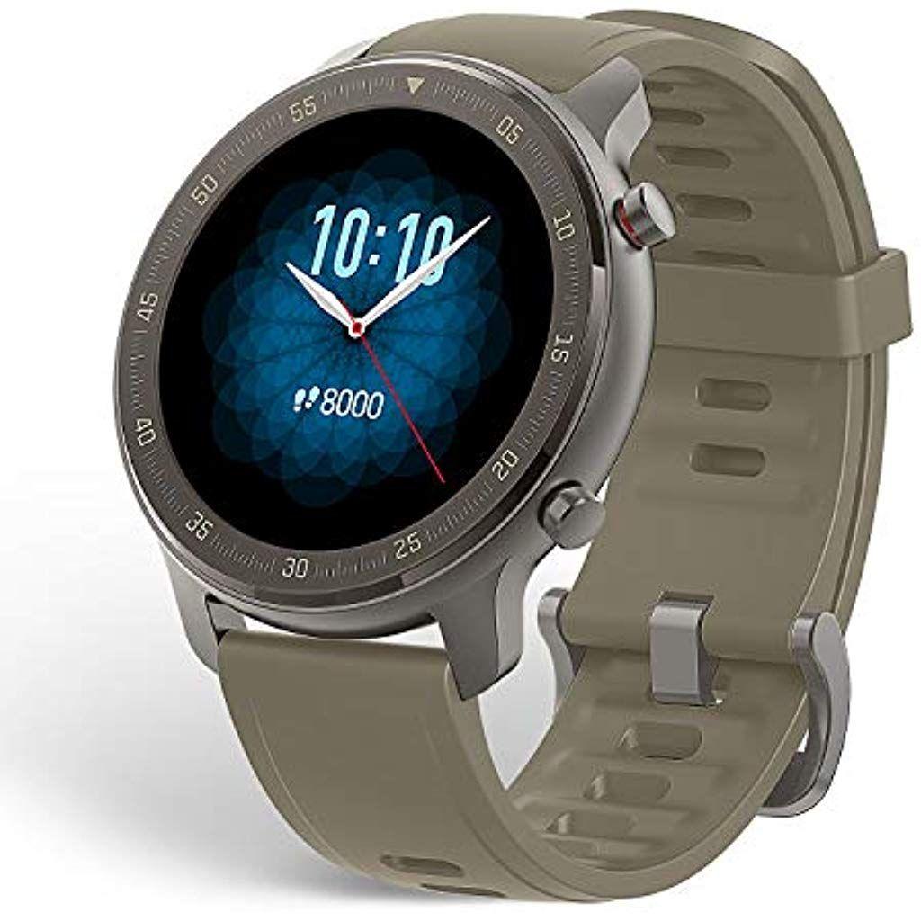 Amazfit Gtr 47mm Smart Watch Mit Ganztagiger Herzfrequenz Und Aktivitatserfassung Gps Und Extrem Langer Akkulaufzeit Titanium A Herzfrequenz Frequenzen Laufen