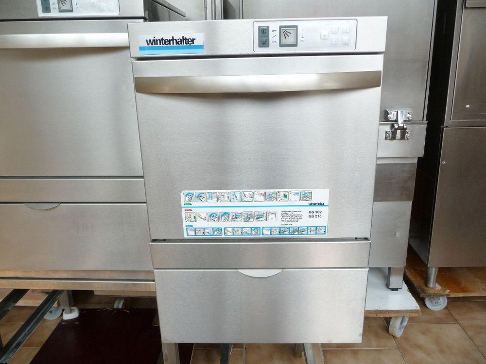 Winterhalter Gs 202 Glaserspulmaschine Gastronomie