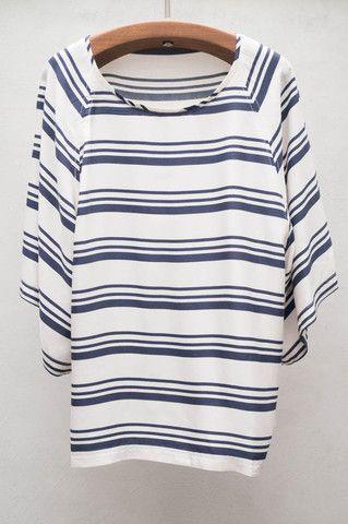 Stripe Anchor Blouse by Ulla Johnson $345