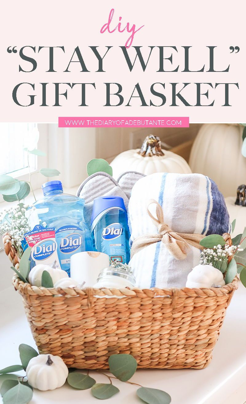 Stay Well Gift Basket Idea For Teachers New Moms And Volunteers Wellness Gifts Teacher Favorite Things Gift Baskets