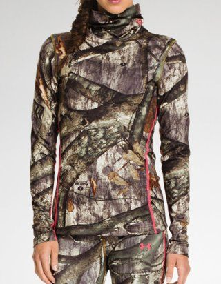 03beffecd58 Scrunched neck Women s Hunting Clothing