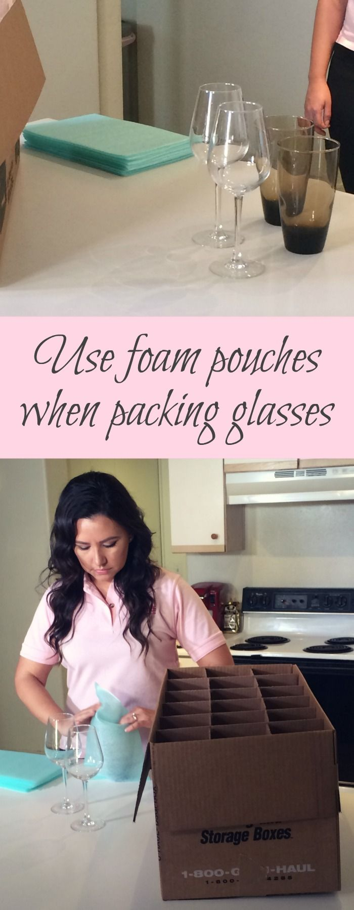 Glass Pack Kit With Images Foam Moving Hacks Packing Moving