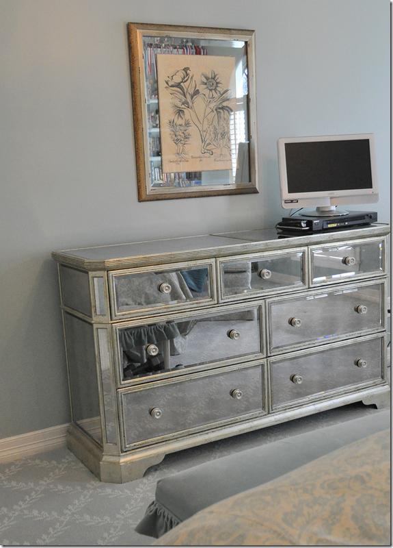 Mirrored Furniture, Z Gallerie Mirrored Dresser