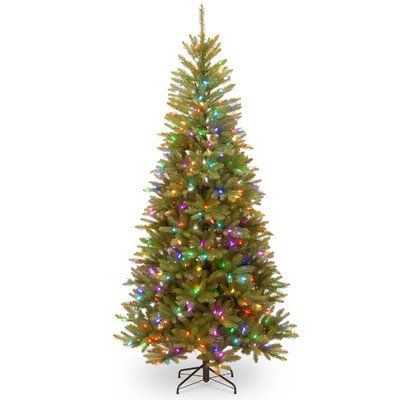 Darby Home Co 75\u0027 Green Fir Artificial Christmas Tree with 450 LED