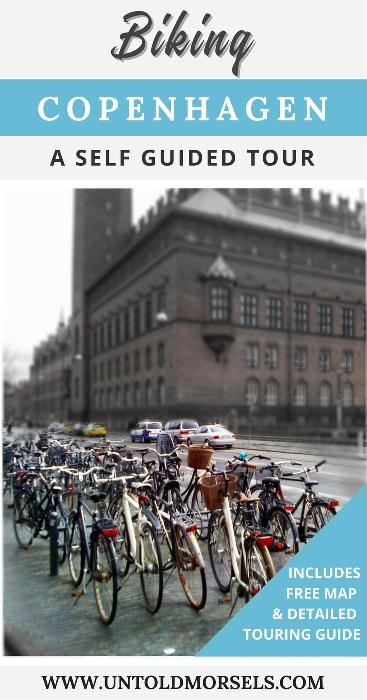 See Copenhagen on two wheels with a self guided tour