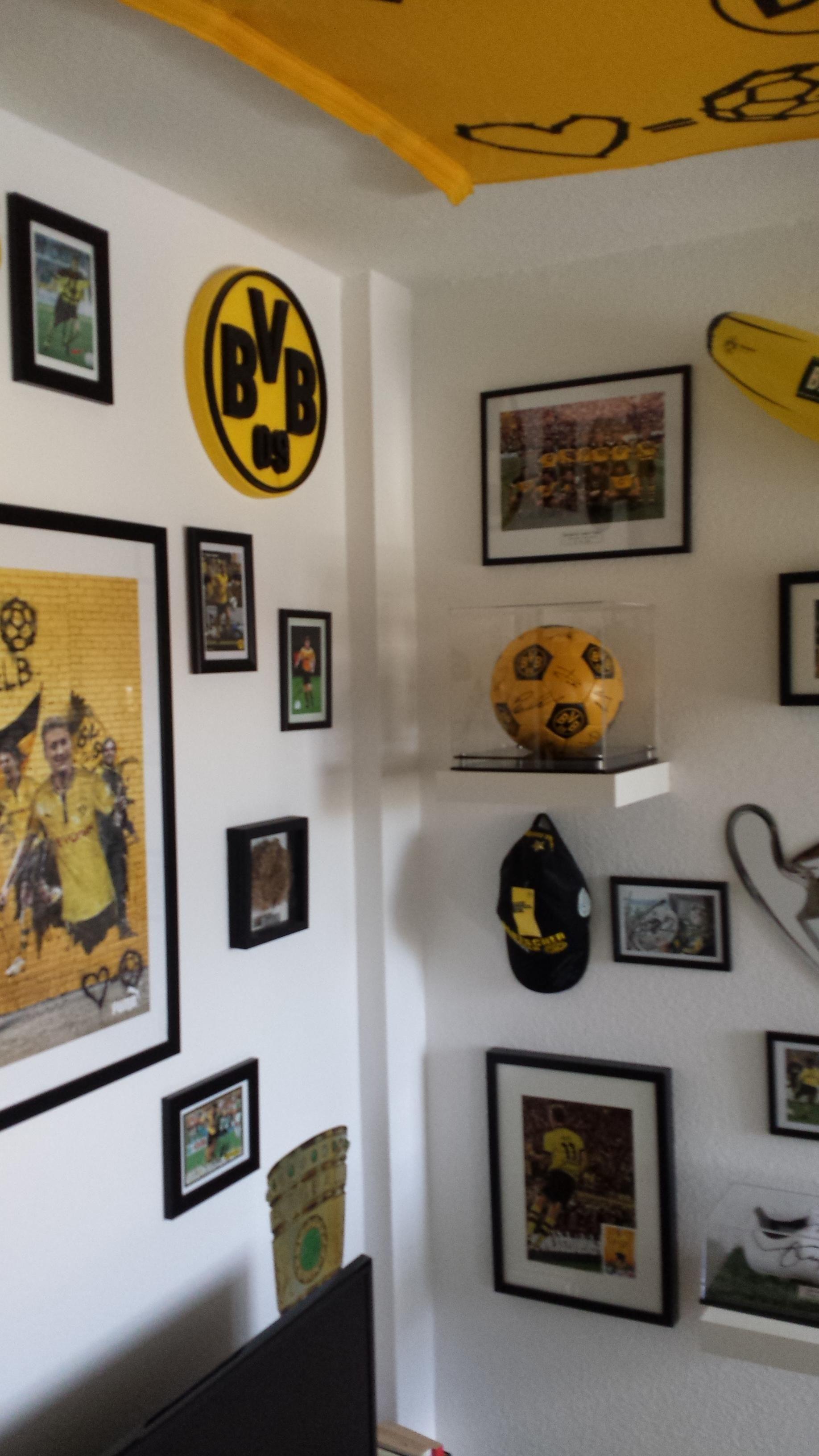 BvB Fussball Zimmer | Fussballzimmer | Bibi | Pinterest