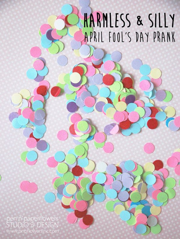 Pen n paper flowers share april fools day shenanigans for the mightylinksfo