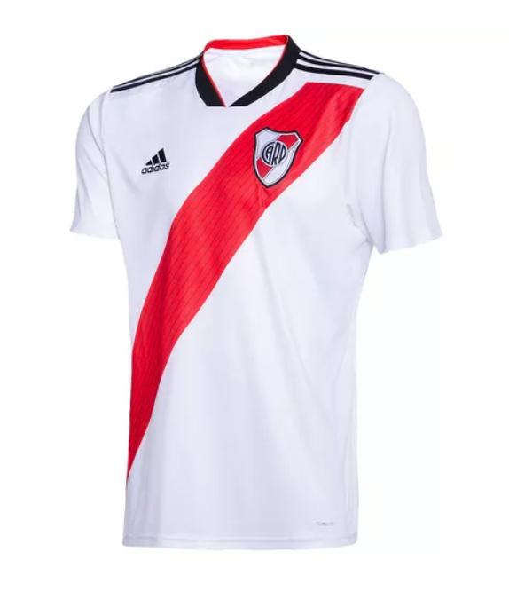 BNWT River Plate Adidas White Polo Football Shirt Size Mens Large