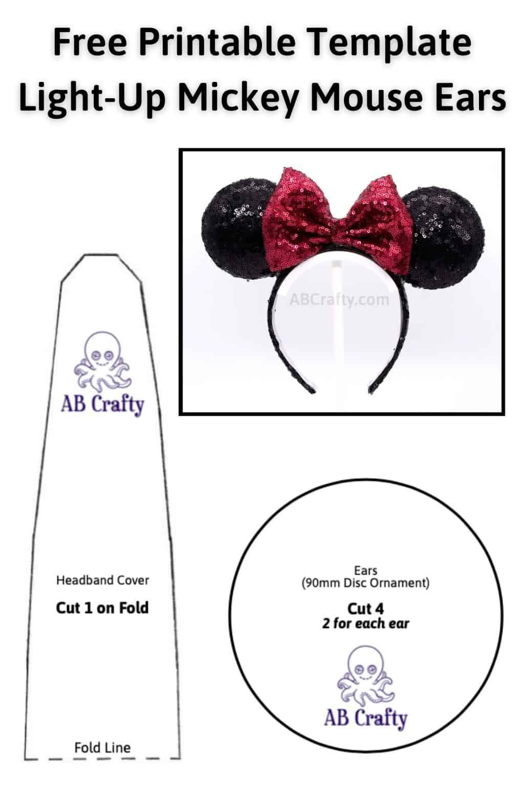 35+ Mouse ear headband pattern ideas