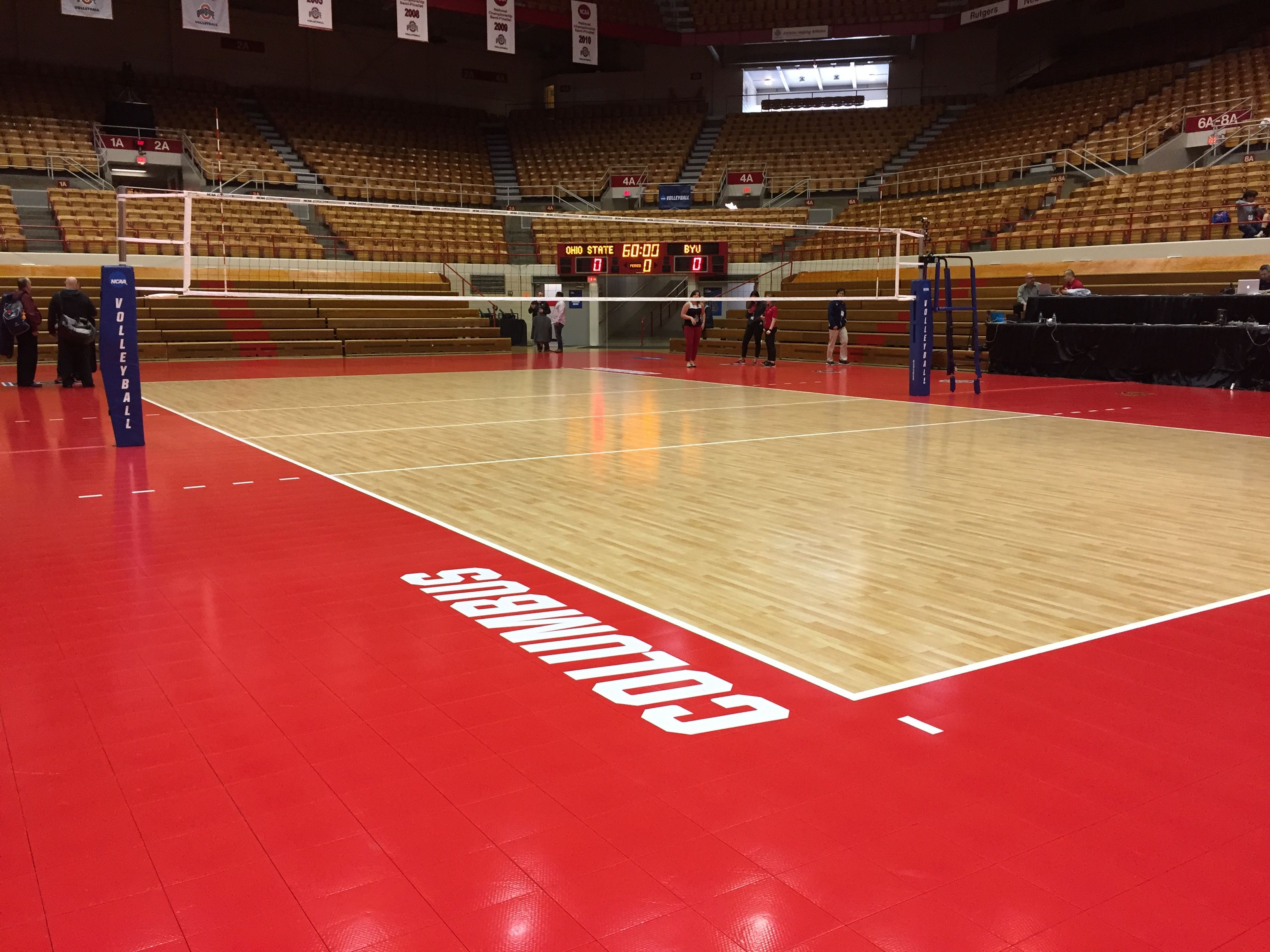 Volleyball Net System 2017 Ncaa Men S Volleyball Championship Court Volleyball Net Indoor Volleyball Volleyball
