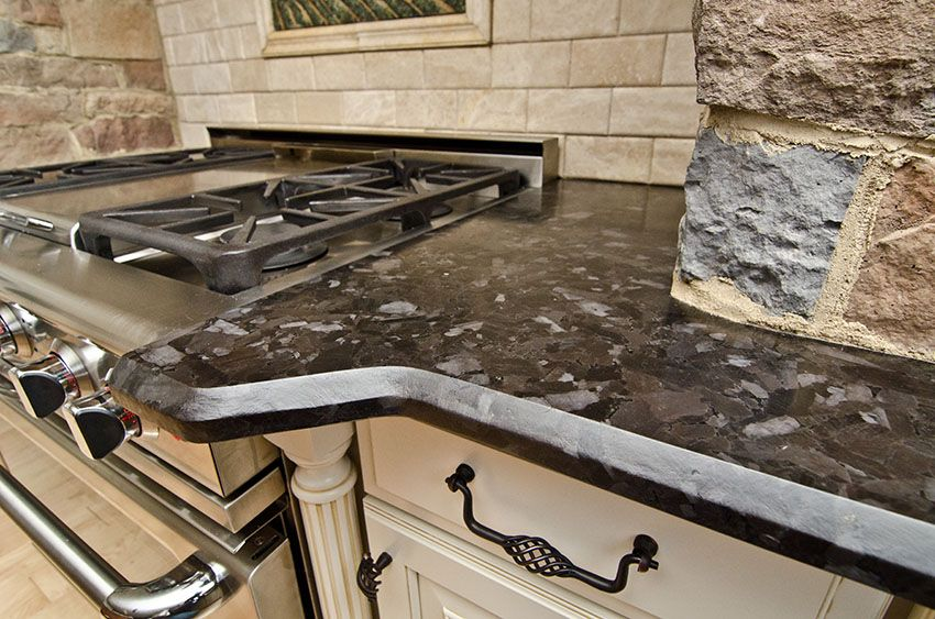 incredible brown color kitchen cabinets | Leathered Antique Brown Granite | Incredible Granite ...