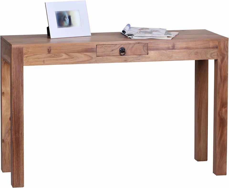 Home affaire Konsolentisch »Naabaalig«, mit einer Schublade Jetzt bestellen unter: https://moebel.ladendirekt.de/wohnzimmer/tische/konsolentische/?uid=0dcedd71-d0df-50d4-b403-c93f776347a4&utm_source=pinterest&utm_medium=pin&utm_campaign=boards #wohnzimmer #tische #konsolentische