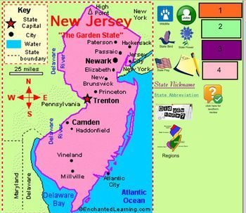 All About New Jersey New Jersey Jersey City Atlantic City