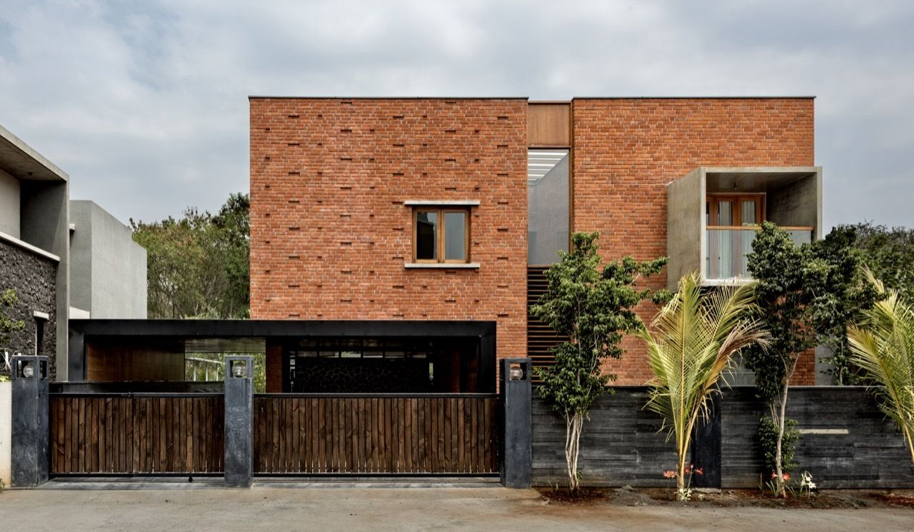 Gallery Of Brick House A For Architecture 10 Modern Brick
