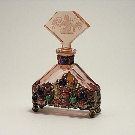 Collectible Perfume Bottles | Czech vintage perfume bottle