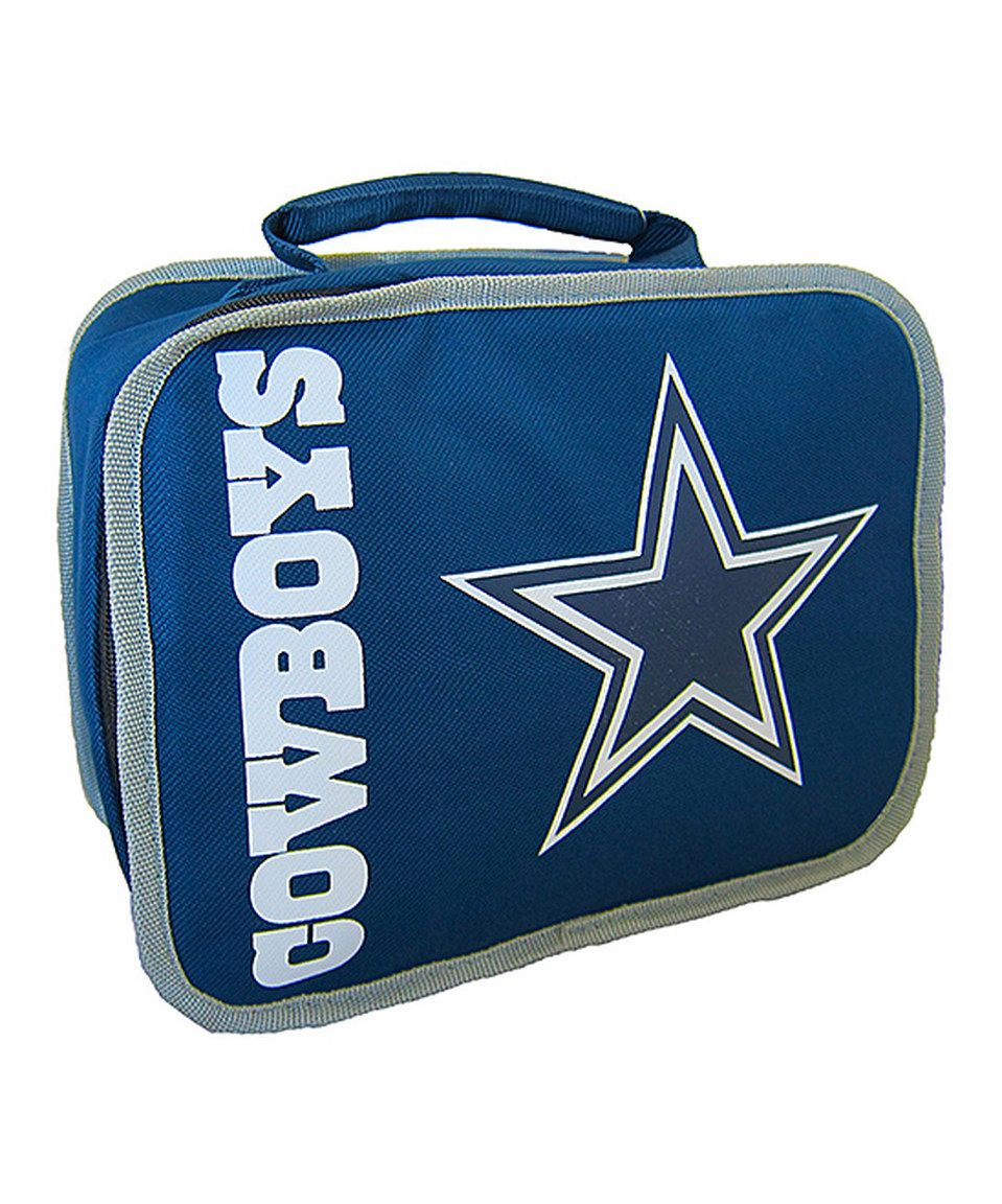 This Dallas Cowboys Insulated Lunch Bag By Nfl Is Perfect Zulilyfinds