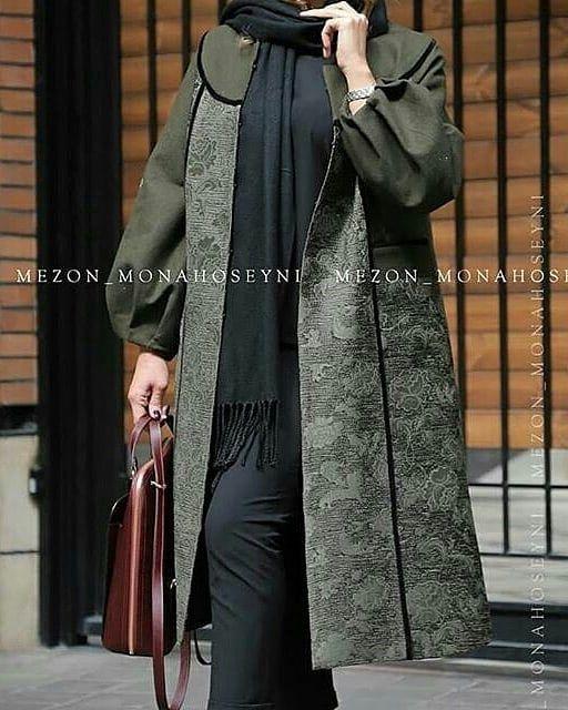 مدل مانتو جدید زنانه 98 Women Blouses Fashion Abayas Fashion Iranian Women Fashion