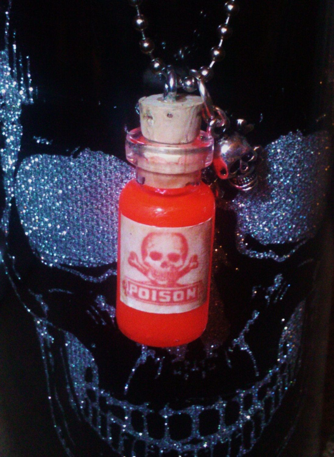 Unavailable Listing On Etsy Bottle Necklace Bottle Vials
