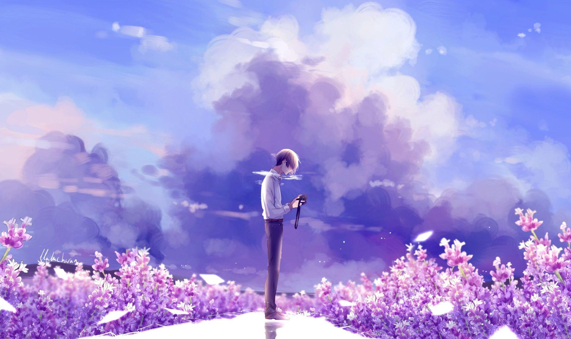 1920x1139 Anime Wallpaper For Desktop Background Anime Flower Anime Background Anime Scenery Coolest anime flower wallpaper
