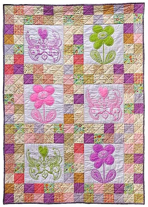Quilt Story: Absolutely a little girls quilt