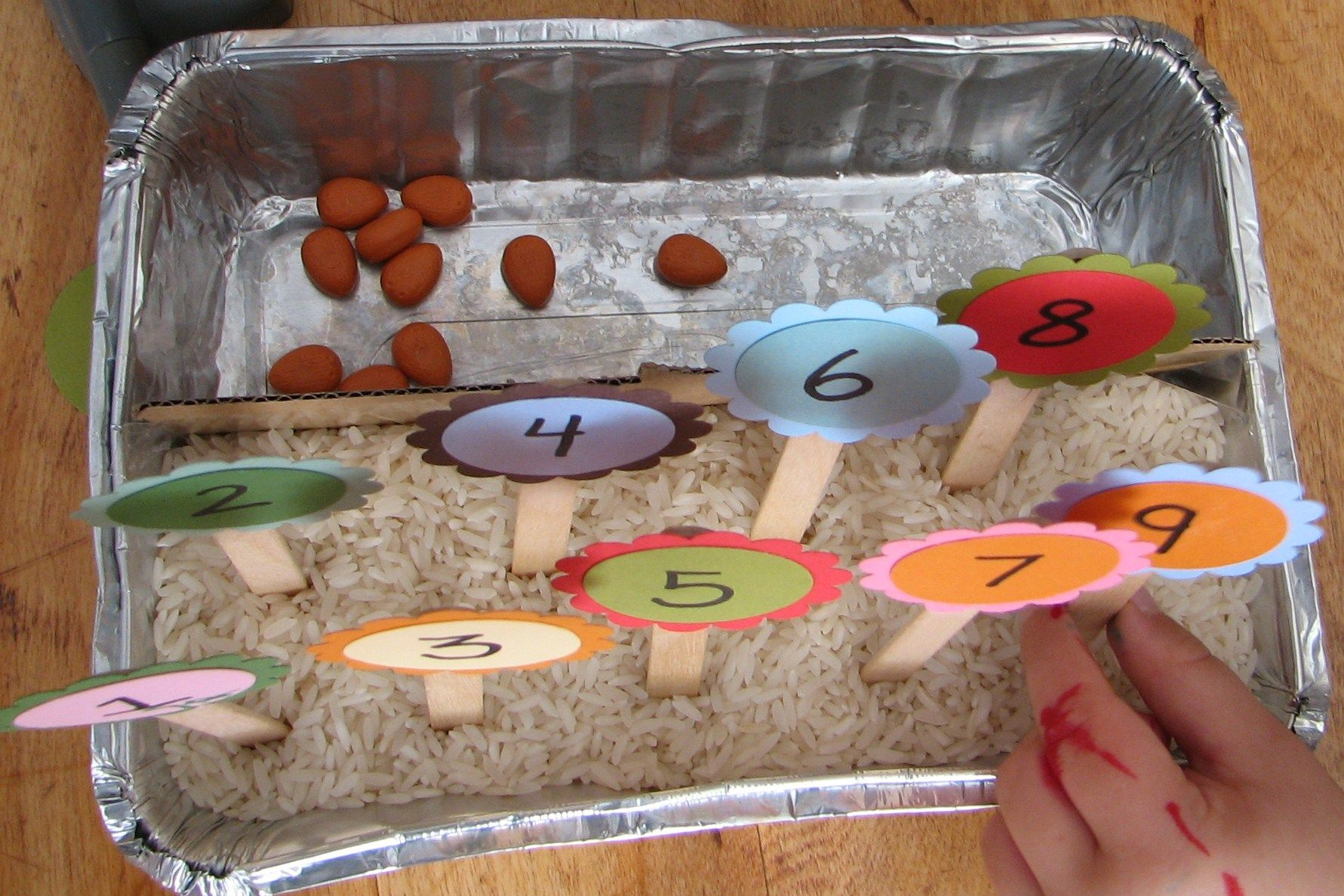 Counting Garden Preschool Learning Activity