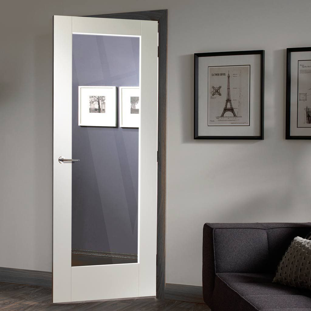 Pattern 10 white primed 1 pane fire door 30 minute fire rated pattern 10 white primed 1 pane fire door 30 minute fire rated with clear glass planetlyrics Images