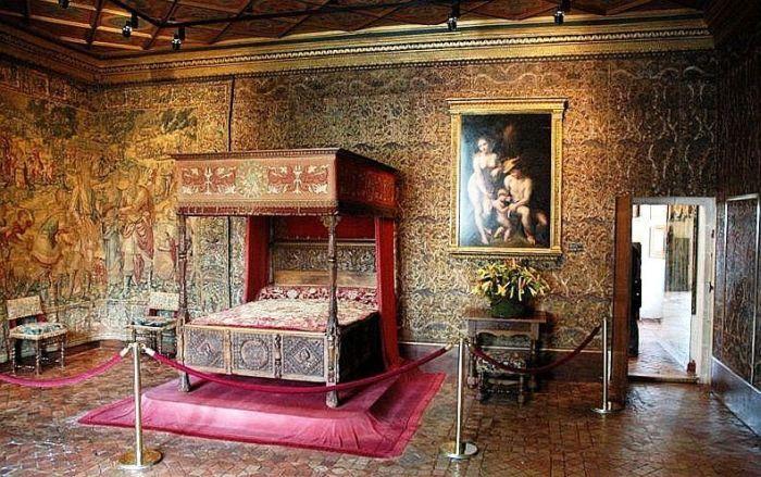 Chambre de Catherine de Medicis , Chenonceau | FRANCIA CHATEAU ...