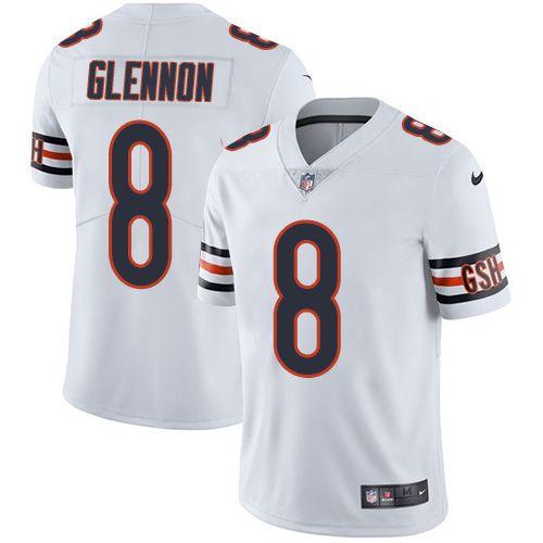 buy online e1f14 21368 Anthony Barr jersey Nike Bears #8 Mike Glennon White Men's ...