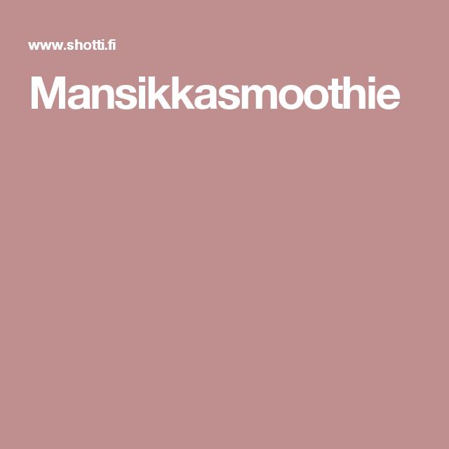 Mansikkasmoothie