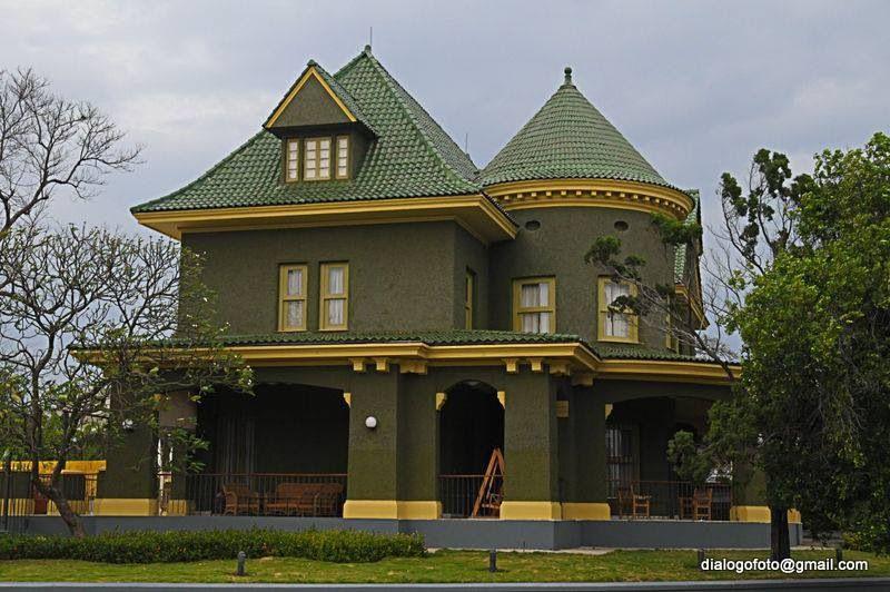 Mansión La Casa Verde situada en la Quinta Avenida esquina