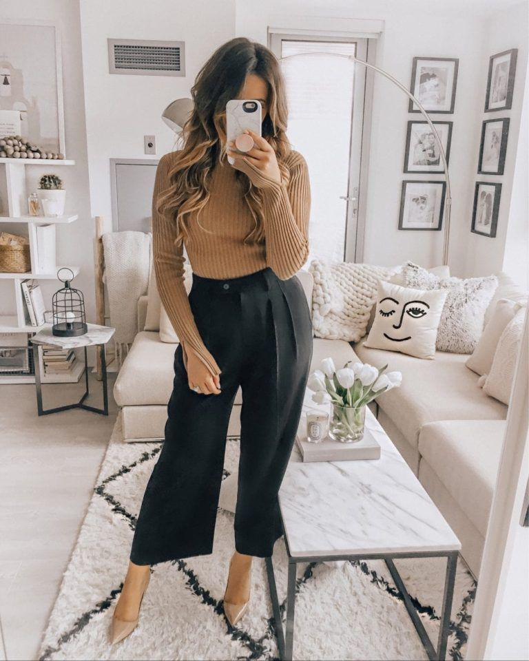 How to Always Look Stylish at Work - 10 Ways #fallworkoutfits
