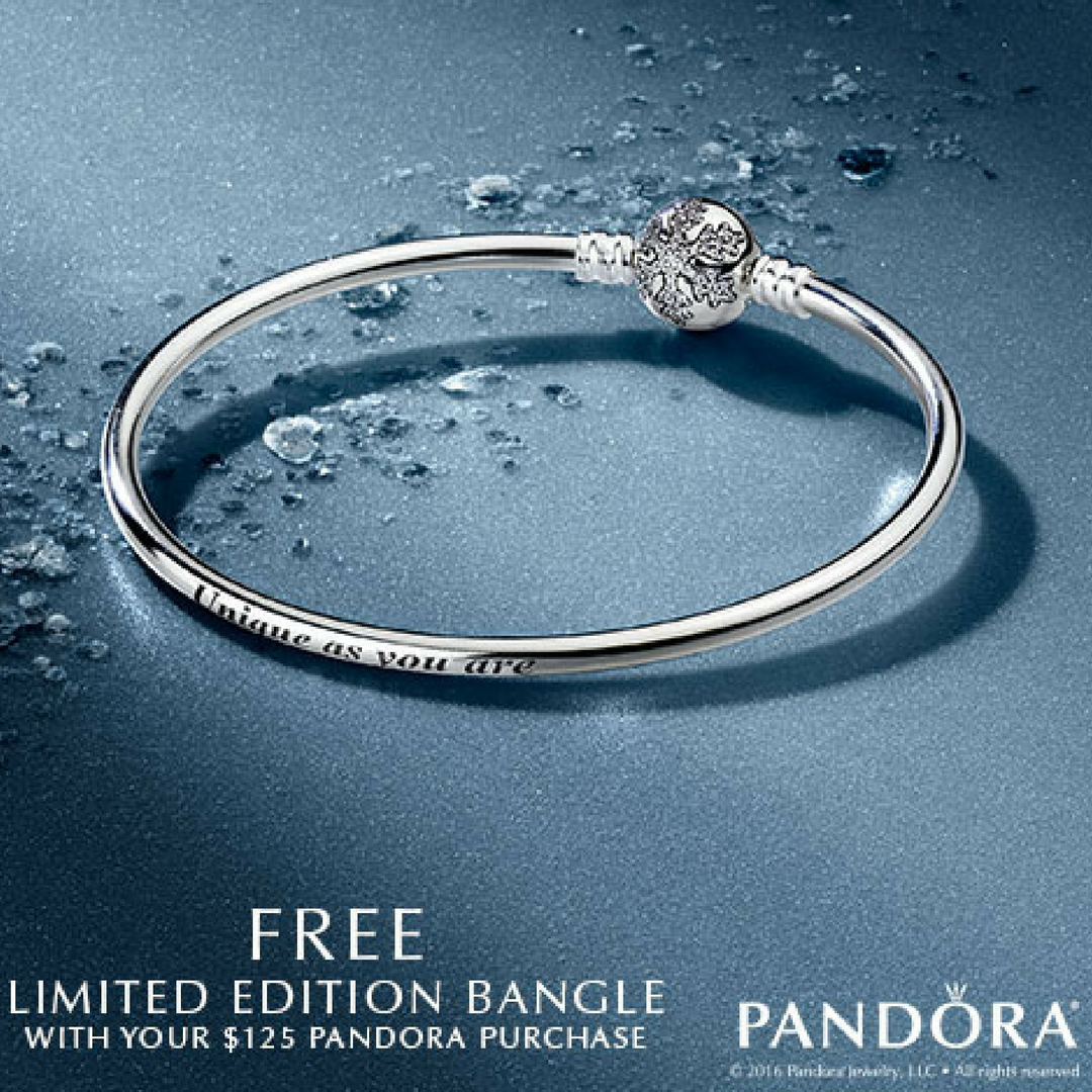 pandora limited edition black friday bracelet
