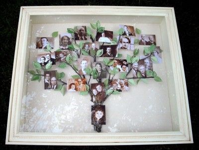 How To Decorate A Shadow Box Classy How To Decorate Your Home With Shadow Boxes  Family Trees Shadow Decorating Design