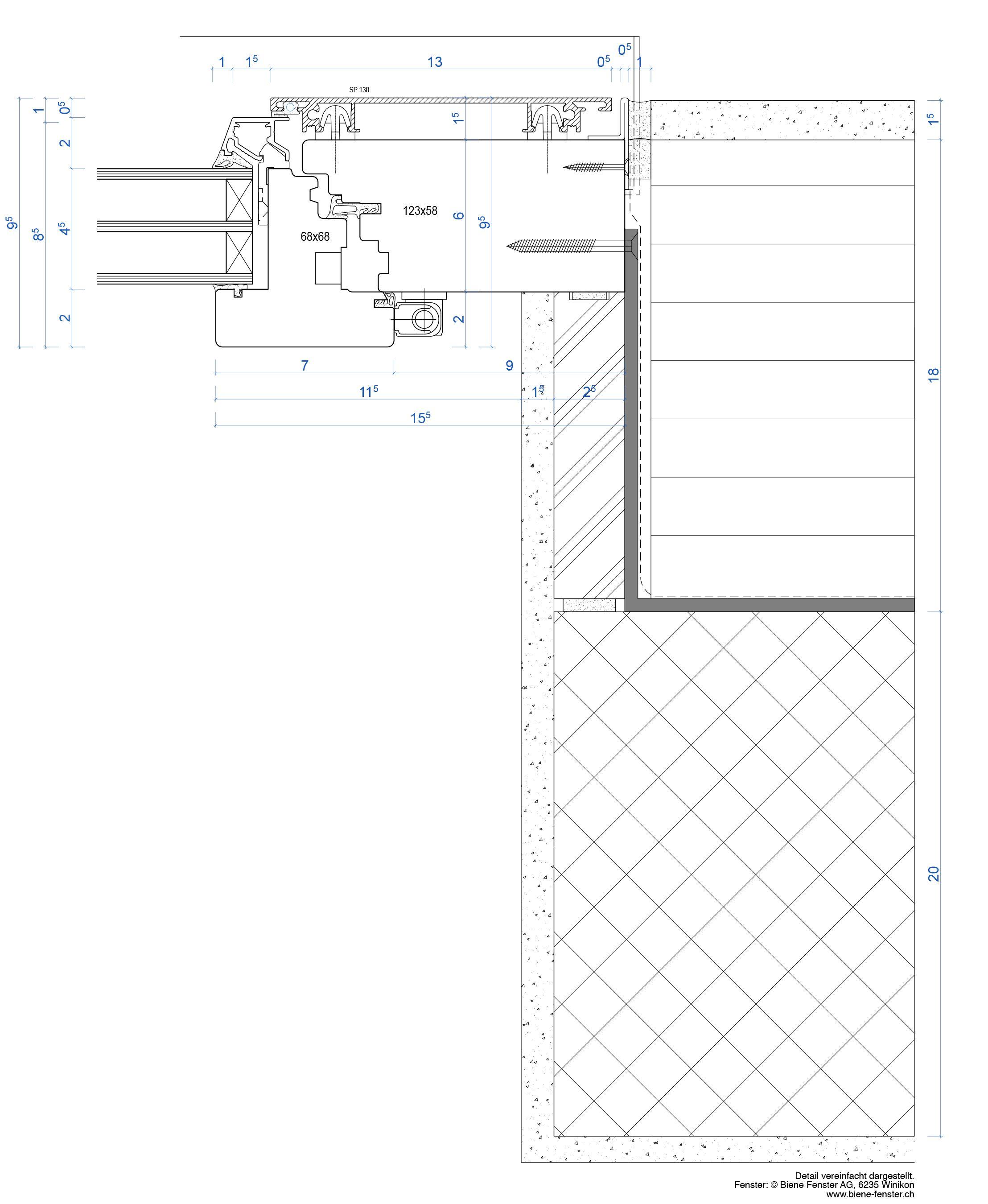Holzbau detail fenster  ETH Zürich | D-ARCH / BUK / Dokumentation / Fenster aussenbündig ...