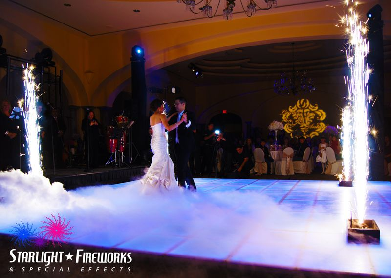 Having A Fairy Tale Wedding Have Your First Dance On Cloud Care Of Starlight Fireworks