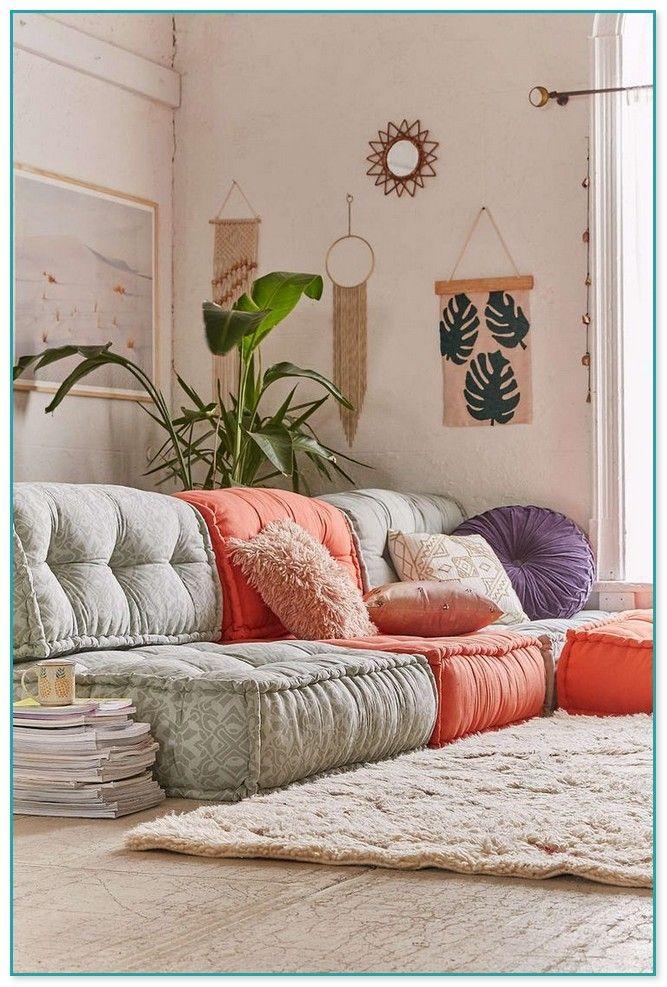 Comfy Neutrals Floor Seating Living Room Home Floor Seating