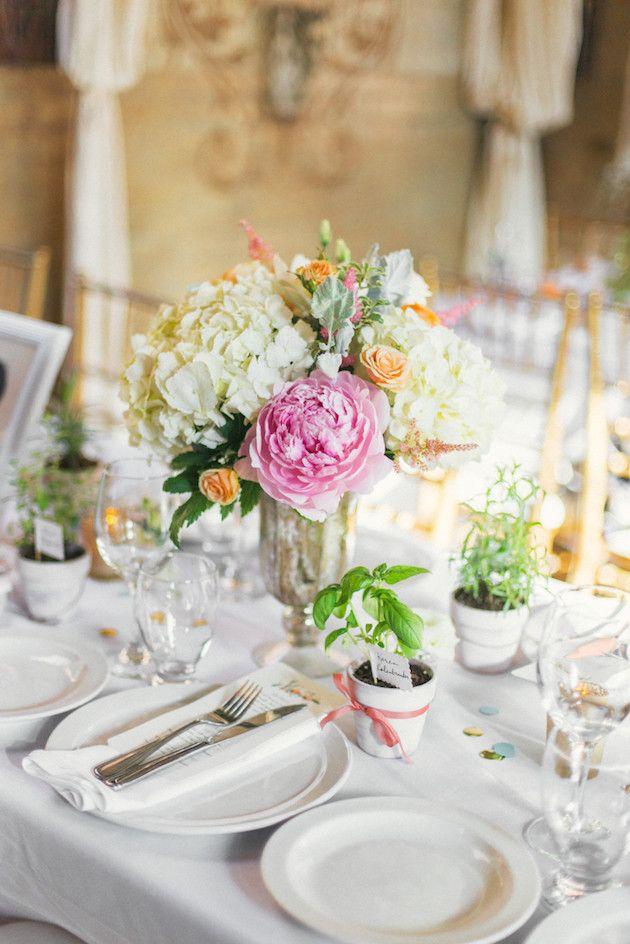 Diy Wedding In Toronto With Pretty Diy Botanical Decor Bridal