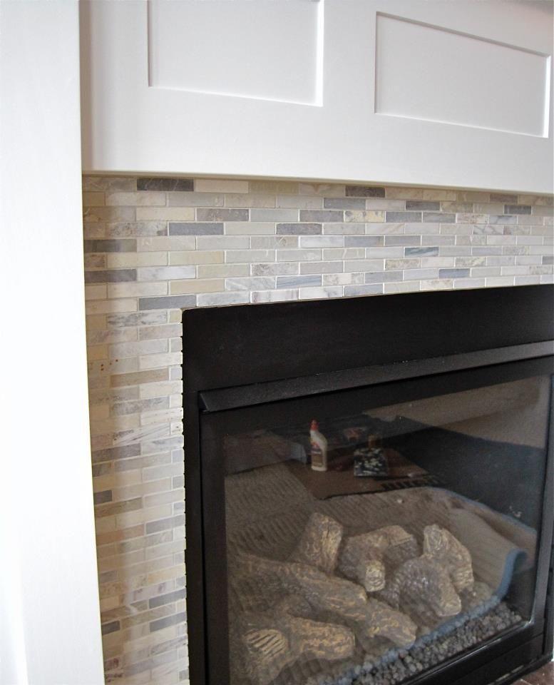 Walker Zanger Stone Mosaic Tile Installed On A Stunning