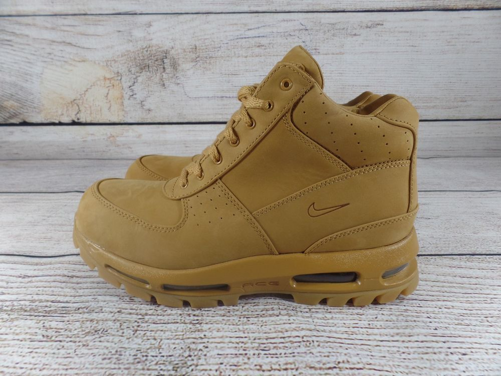 New Nike Air Max Goadome QS Flax Wheat Gum Brown ACG Boots