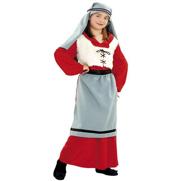 disfraz de panadera nia infantil varias tallas este traje es ideal para representar