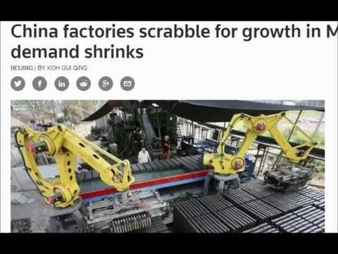 Get Ready For Crash: China factories export demand shrinks!