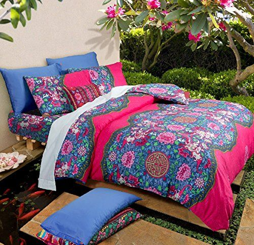 duvet flower print plum cover animal king queen bedding beddingoutlet set bohemian golden dolphin item bed