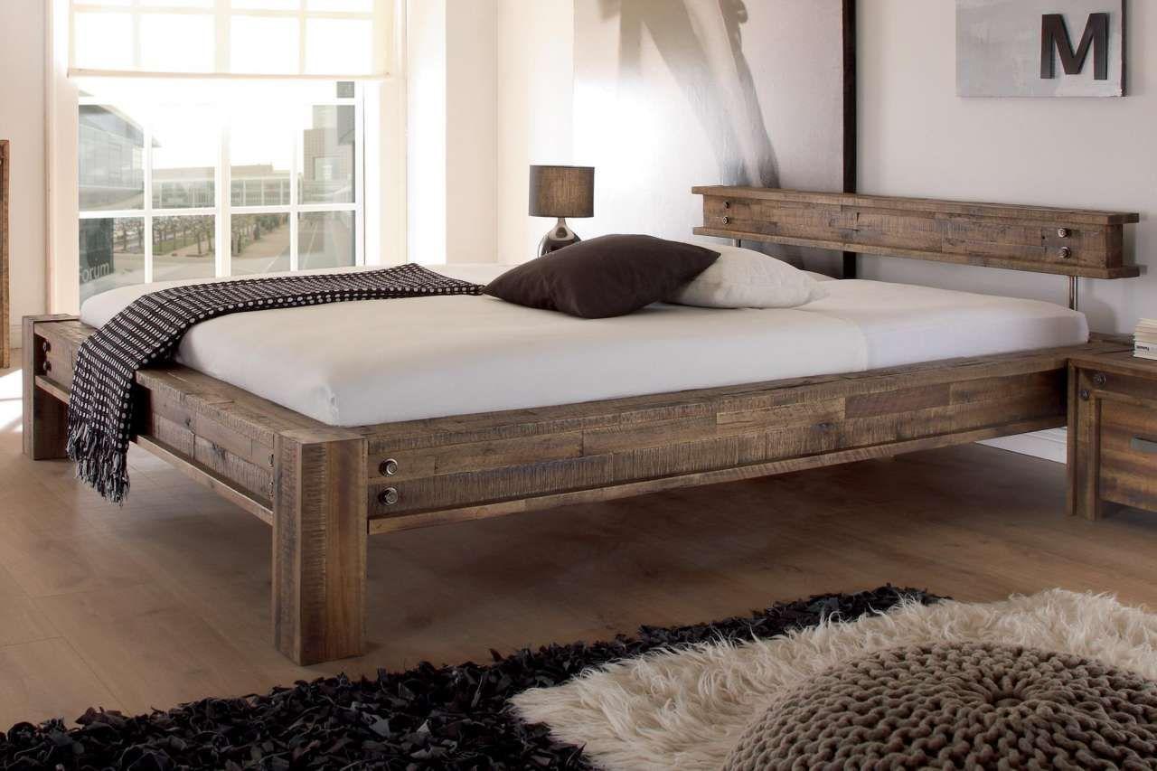 Hasena Bett Factory Line San Luca 180x200 Cm 62 Akazie Vintage Brown In 2020 Bett Modern Vintage Bett Bett