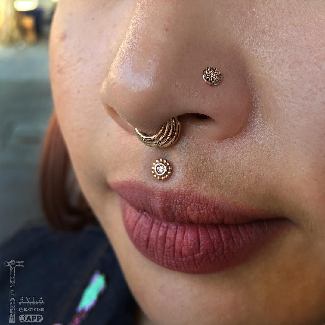 So Fresh And So Clean Fresh Nostril Piercing By