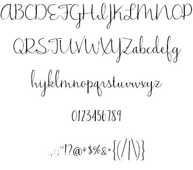 Jasmine Reminiscentse Font | Alphabetize It! (fabulous fonts